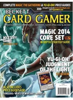 Beckett Card Gamer Fall 2013