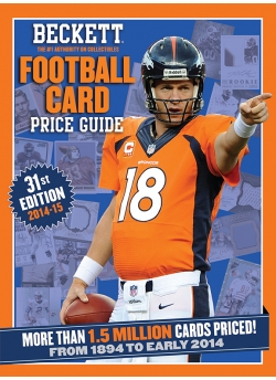 Football Price Guide Issue# 31 2014-15