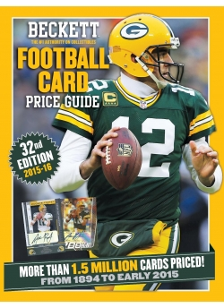 Football Price Guide Issue# 32