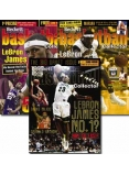 Basketball Collector #153, #154 and #155 - LeBron James 3-Pack Special