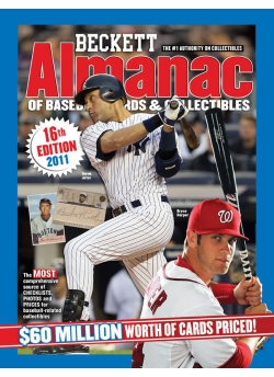 Beckett Baseball Almanac #16th Edition 2011
