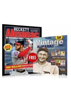 Baseball Almanac #20 and get Vintage Almanac FREE