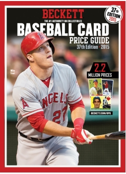 Beckett Baseball Card Price Guide 37th Edition