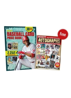 Beckett Baseball Card Price Guide 38th + Autograph Price Guide Issue 2 FREE
