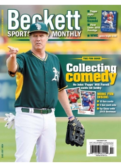 Beckett Sports Card Monthly 364 July 2015