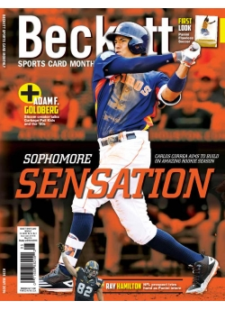 Beckett Sports Card Monthly 374 May 2016