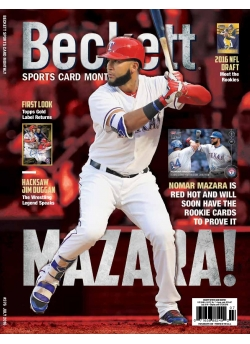 Beckett Sports Card Monthly 376 July 2016
