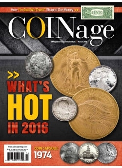 Coinage March 2016