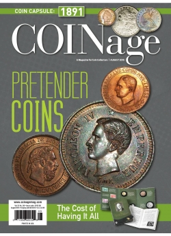 Coinage August 2016