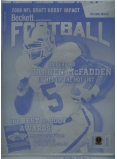 Darren McFadden Football Printing Plate - Authentic