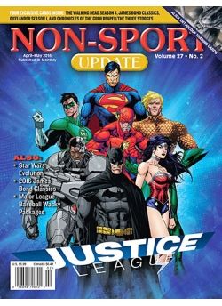 Non Sport Update - Justice League! April-May 2016