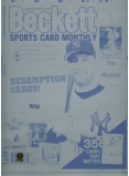 Derek Jeter Sports Card Monthly Complete Set of Four Printing Plates - Authentic