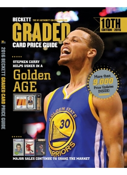 Graded Card Price Guide Issue# 10 2016