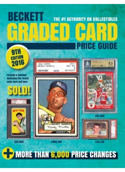 Graded Card Price Guide Issue# 9 2015