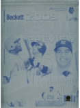 Howard, Wright, Teixeira 2009 Baseball Preview Printing Plate - Authentic