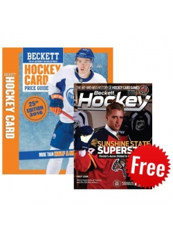 Hockey Price Guide Issue# 25 +Hockey 3 Months Print Subscription FREE
