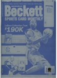 LeBron James Sports Card Monthly Complete Set of Four Printing Plates - Authentic