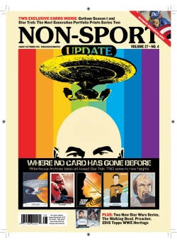 Non Sport Update - August/September 2016