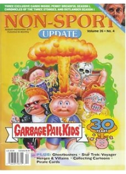 Non-Sport Update (Garbage Pail Kids 30th Ann.)  August-September 2015