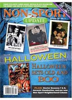 Non-Sport Update (The Halloween Issue) October-November 2015
