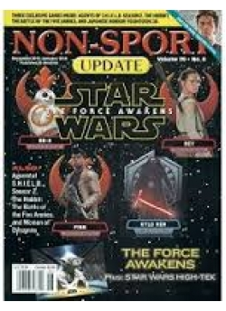 Non-Sport Update (The Force Awakens) December 2015-January 2016