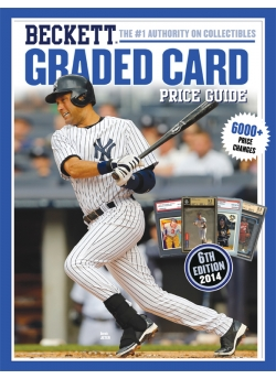 2014 Beckett Graded Card Price Guide 6th Edition Derek Jeter