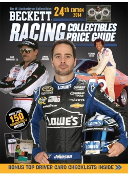2014 Beckett Racing Price Guide 24th Edition Dale Earnhardt Sr Jimmy Johnson Richard Petty
