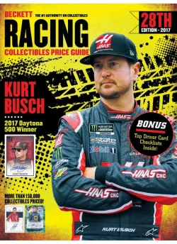 2017 Beckett Racing Collectibles Price Guide 28th Edition