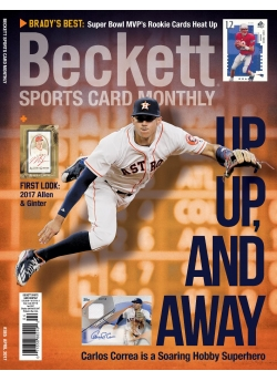 Beckett Sports Card Monthly 385 April 2017