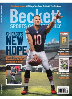 Beckett Sports Card Monthly 389 August 2017