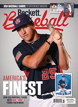 Beckett Baseball 160 July 2019