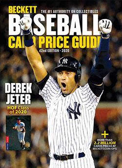 2020 Beckett Baseball Card Price Guide #42
