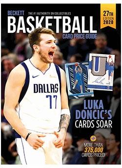 2020 Beckett Basketball Card Price Guide #27