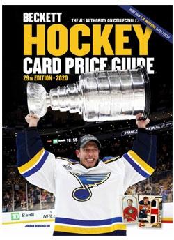 2020 Beckett Hockey Card Price Guide #29