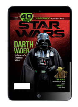 Special Edition Star Wars - 40th Anniversary Magazine - (Darth Vader-Cover) Digital Issue