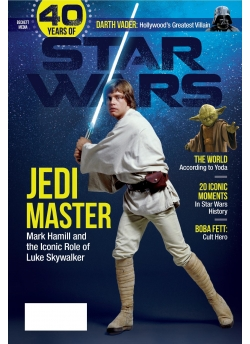 Special Edition Star Wars - 40th Anniversary Magazine - (Luke Skywalker-Cover) Order Now