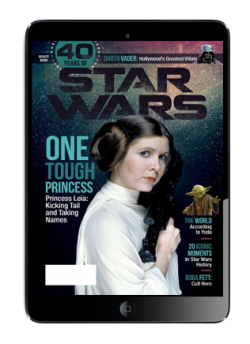 Special Edition Star Wars - 40th Anniversary Magazine - (Princess Leia-Cover) Digital Issue