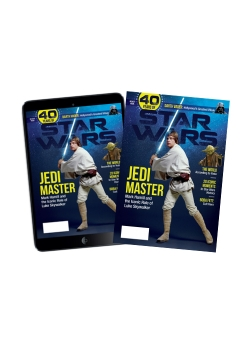 Special Edition Star Wars - 40th Anniversary Magazine - (Luke Sywalker-Cover) - Print + Digital COMBO