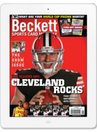 Beckett Sports Card Monthly Digital