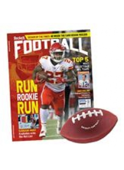 Free Football Stress Reliever with 1-year Beckett Football Subscription