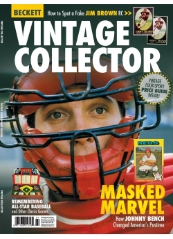 Beckett Vintage Collector 1 Year Subscription + Beckett Vintage Collector November 2017 + Beckett Vintage Collector Digital