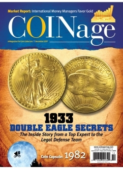 Free COINage December 2017 With 1 Year COINage Subscription