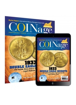 Coinage 1 Year Print Subscription + 6 months Coinage  Digital Subscription