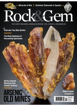 2 Back Issues Free with 1 year Rock&Gem Subscription