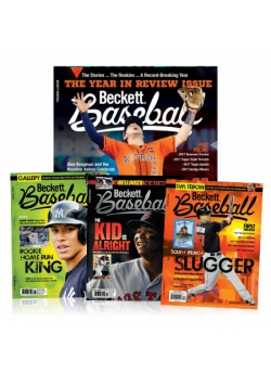 3 Back Issues Free with 1- Year Beckett Baseball Subscription
