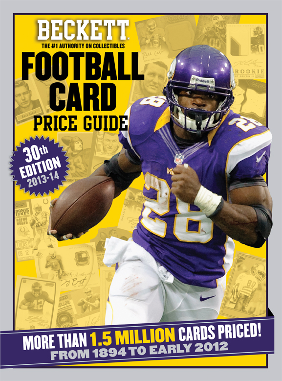 2013-2014 Beckett Football Price Guide #30th Edition