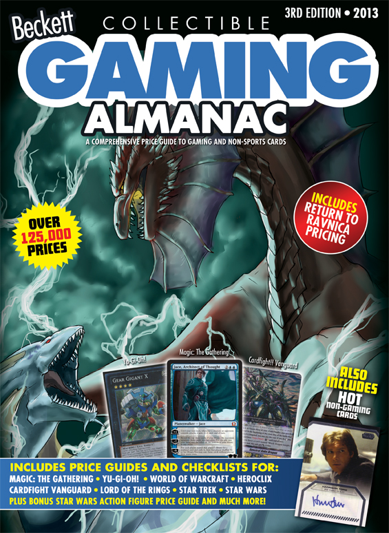 2013 Beckett Gaming Almanac 3rd Edition