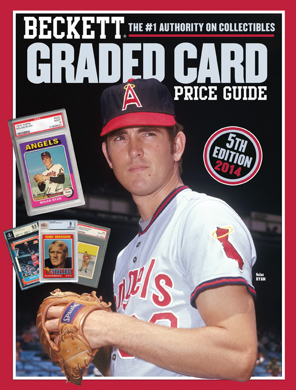 Beckett Graded Card Price Guide 5th Edition 2014