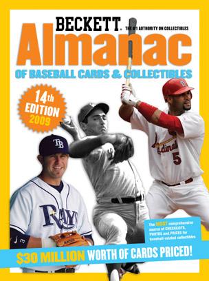 baseball cards 2009. $44.95. Almanac of Baseball
