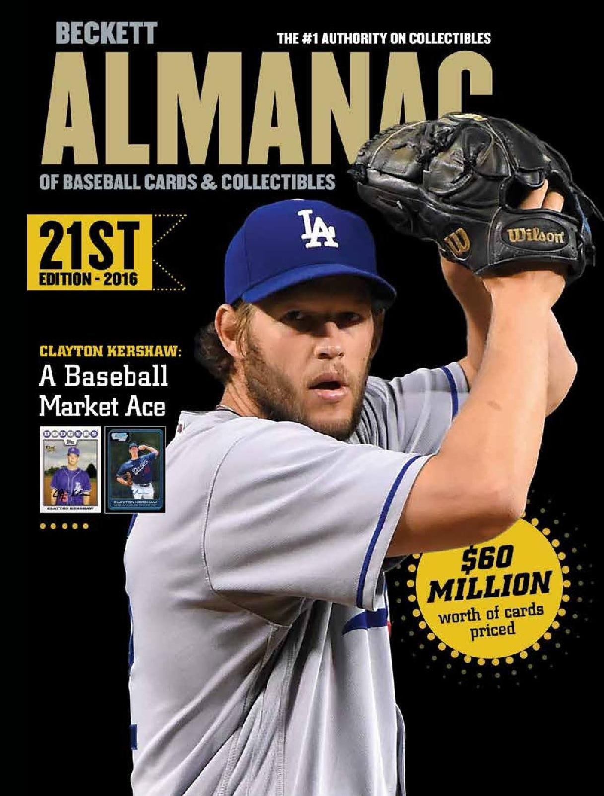 Baseball Almanac #21